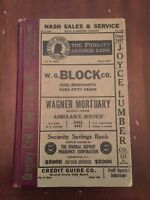 1941 Polk's Marshalltown (Marshall County, Iowa) City Directory Vol. V