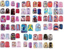 New Kids Children Boys Girls Disney Cartoon Character Theme School Backpack