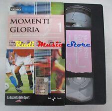 film VHS MOMENTI DI GLORIA NR. 1 La Gazzetta dello Sport  (F7*) no dvd