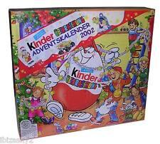 KINDER SORPRESINE: CALENDARIO dell'AVVENTO/ADVENSKALENDAR 2002