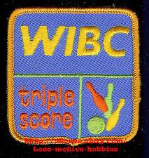 LMH PATCH Triple Score  WIBC  WOMENS INTERNATIONAL BOWLING CONGRESS League Award