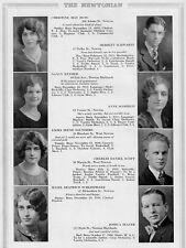 1929 Newton MA High School Yearbook~Photos~HIstory~Football~Baby Pics~Ads~++