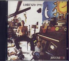 JOVANOTTI - Lorenzo 1992 - CD ALLEGATO TV SORRISI E CANZONI OTTIME CONDIZIONI