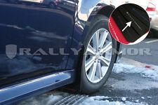 Rally Armor 2010 - 2014 SUBARU LEGACY UR Black Mud Flaps Kit w/ SILVER Logo