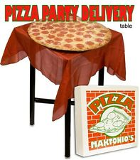 Pizza Delivery Table w/ DVD Stage Size Magic Trick Illusion effect platform kid