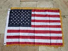 EE.UU. Bandera Bordado 50 Estrellas Ejército 61x91cm wkII WW2 Vintage USMC IRAK