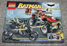 LEGO BATMAN (7886) -- THE BATCYCLE: HARLEY QUINN'S HAMMER TRUCK - SEALED/RETIRED