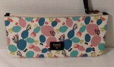 NWT FOSSIL POUCH/WALLET PAIGE POUCH MULTI COLORS  SWL1742998