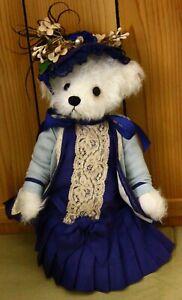 "Vintage OOAK Mohair Teddy Bear 11"" by Michelle Richardson"