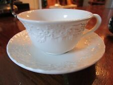 """Wedgwood Cup And Saucer """"Claire"""" Pattern For Ralph Lauren, [*117]"""