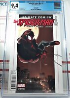 🌟 CGC 9.4 ALL NEW SPIDER-MAN #3 2ND PRINT VARIANT Miles Morales ULTIMATE COMICS
