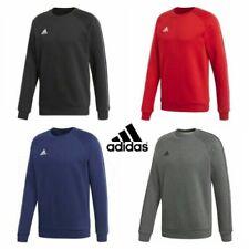 adidas Cotton Crew Neck Hoodies & Sweatshirts for Men