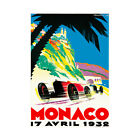 Sport Ad Monaco Grand Prix Motor Race 1932 Monte Carlo Framed Wall Art Print
