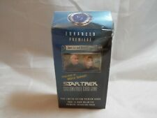 STAR TREK CCG ENHANCED PREMIERE SEALED JEAN-LUC AND BEVERLY DECK