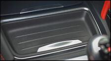 BMW neuf origine 3 4 SERIES Centre Console défets Tray Insert Noir 9232068