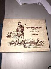 Vintage Davy Crockett Children'S Boxed Soap Set Pure Castile Tre-Jur Mid-1950s