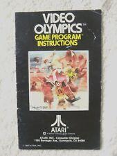 47648 Instruction Booklet - Video Olympics - Atari 2600 / 7800 ()