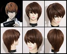 Light Yagami Cosplay Wig HANDMADE Death Note Anime Ready to ship from USA