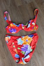 Size 3 UK 12 B Cup RASUREL LEJABY Red Bikini Underwired VGC (32)
