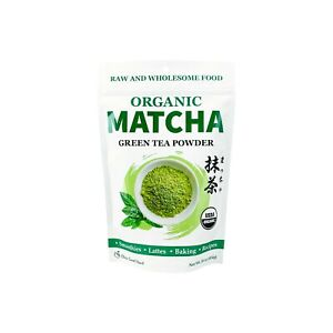 USDA Certified Organic Matcha Green Tea Powder, 1 LB Bag
