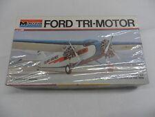 Monogram  Plastic Model Kit 1975 FORD TRI-MOTOR (TIN GOOSE)  SIGILLATO 7592-0102