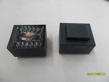 trasformatore mini 230v 2 x 6v 6+6v 3,6va 0,6a 600ma oppure 12v 0,3A 300ma NUOVO