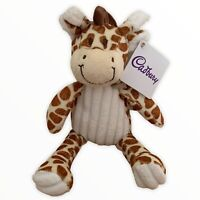 "Cadbury World Giraffe Comforter Soft Cuddly Toy Plush 9"" Baby Birth New Tags"