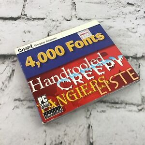 Snap! 4,000 Fonts by Topics Entertainment - PC CD-ROM Software