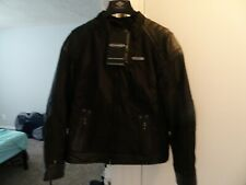Men's Harley Davidson 3 in 1 Leather Riding Jacket FXRG Size S Triple Vent