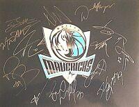 Dallas Mavericks 2011-2012 Team Signed Autographed 11x14 Photo COA Kidd,Carter