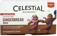 Gingerbread Spice Holiday Tea by Celestial Seasonings, Pack of 6