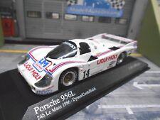 PORSCHE 956 L T C Liqui Moly Le Mans 1986 Baldi Dyson Cobb SP MINICHAMPS 1:43