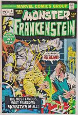 FRANKENSTEIN MONSTER#1 FN/VF 1973 MARVEL BRONZE AGE COMICS