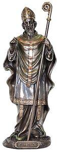 Saint Patrick Religious Statue figurine 22cm (H)