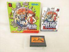 METAL SLUG 2ND MISSION Neo Geo Pocket Color SNK JAPAN Game bcb np