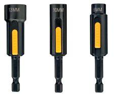 Dewalt DT7460-QZ Impact Easy Clean Nut Drivers 8, 10, 13mm Socket Wrenches Tek