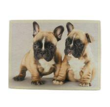 Tischset - Platzmatte - Französische Bulldogge - Hunde - 2 teilig Platzdeckchen