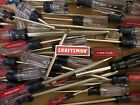 NEW CRAFTSMAN TORX, PHILLIPS, OR FLAT SCREWDRIVER - CHOOSE YOUR SIZE USA MADE