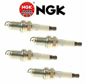 4-NGK Laser Iridium Spark Plugs for Toyota OEM Upgrade Set More Power/Mileage