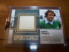 Giorgio Chinaglia Single Memorabilia GOLD VERSION 2009 Sportkings Series C 1/4