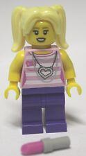 Lego® Figur Mädchen mit Lippenstift unbespielt Minifig new