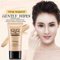 BIOAQUA Natural BB Cream Whitening Moisturizing Concealer Nude Cool Makeup //