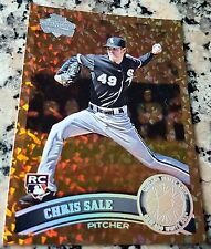 CHRIS SALE 2011 Topps Diamond COGNAC SP Rookie Card RC Logo HOT Boston Red Sox