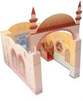 Muslim Kids Masjid Mosque Playhouse Toy Teach Islam Quran Salah Mats Prayer Rugs
