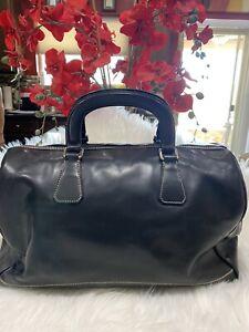 Prada Bowling Leather Hand Bag
