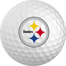 Pittsburgh Steelers Titleist ProV1 Refinished NFL Golf Balls 12 Pack
