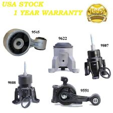 5 PCS FRONT & REAR MOTOR MOUNT FIT 2009-2014 Nissan Maxima 3.5L