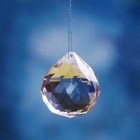 40mm Chandelier Clear Crystal Glass Ball Prism Pendant Suncatcher Home Decor
