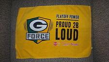 Green Bay Packers g force proud 2B loud Title Towel