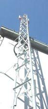 11.2M Steel CCTV Tower, Sports Netting Antenna Mast Lighting Security 11.2 Metre
